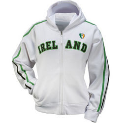 Women's Full Zip Ireland Hoodie