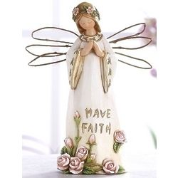 Praying Angel Figure