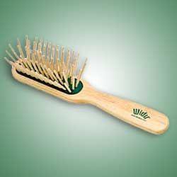 Widu Long Bamboo Bristle Hair Brush