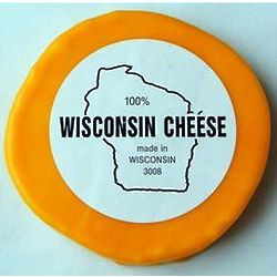 2 lb. Wisconsin Cheddar Cheese