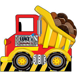 Personalized Dump Truck Standee