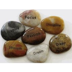 Inspirational Engraved River Stones