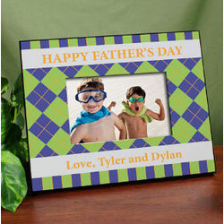Personalized Father's Day Printed Frame
