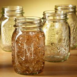 Mason Mugs Personalized Drinking Jars