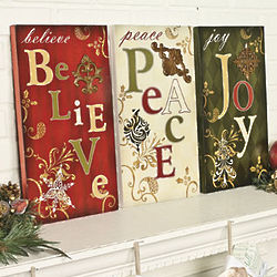 Holiday Wall Signs