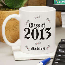 Graduation Personalized Ceramic Coffee Mug
