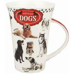 Popular Dogs Bone China Mug