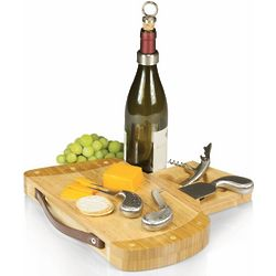 Caddy Golf Bag Wine and Cheese Cutting Board