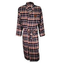 Chicago Bears Men's Flannel Bathrobe