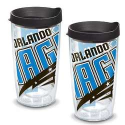 2 Orlando Magic Colossal 16 Oz. Tervis Tumblers with Lids