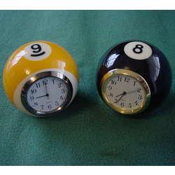 Handmade Billiard Ball Mini Desk Clock