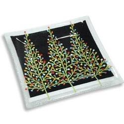 "Tannenbaum 10"" Square Plate"