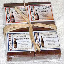 Wisconsin Beer Soap Gift Set