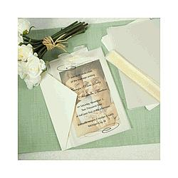 DIY Wedding Invitations & Accessories Kit