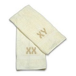 His & Hers XX Chromosome Towel