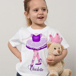 Personalized Ballerina T-Shirt
