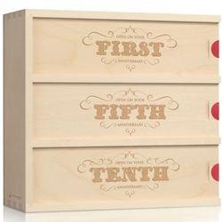 Flourish Anniversary Wine Box