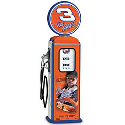 NASCAR Dale Earnhardt Wheaties Gas Pump Figurine
