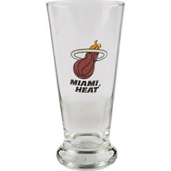 Miami Heat Pilsner Glass