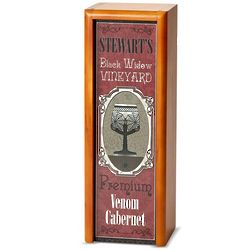 Black Widow Vineyard Personalized Spooky Spirits Wine Box