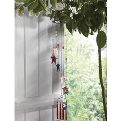 God Bless America Patriotic Wind Chime