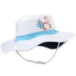 Infant Boy's Crab UPF Beach Bucket Hat