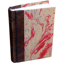 Amalfi Leather Hand-Dipped Color Paper Journal