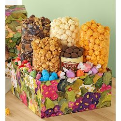 Garden Bunny Sweets and Snacks Gift Box