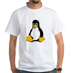 Cartoon Penguin Adult T-Shirt