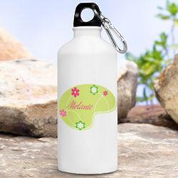 Personalized Heavenly Meadow Water Bottle