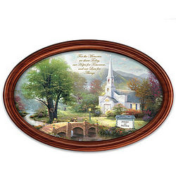 Thomas Kinkade Love for Always Personalized Collector's Plate