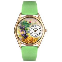 Gold Butterflies Watch