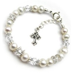 Child Keepsake Pearl & Sparkle Bracelet