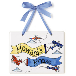 Personalized Name Plaque for Boys