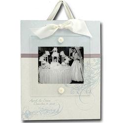 Personalized Hanging Wedding Frame