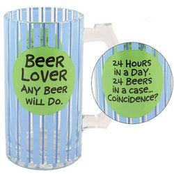 Beer Lover Ceramic Beer Stein