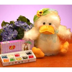 Quacky Duckling with Jelly Belly Box