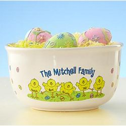Personalized Easter Treat Bowl