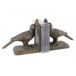 Iron Twin Bird Bookends