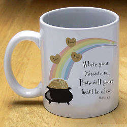 Where Your Treasure Is Coffee Mug