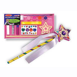 Decorate Your Own Wand Party Favor
