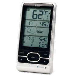All-In-One Weather Station with Moon Phase Graphics and Warnings