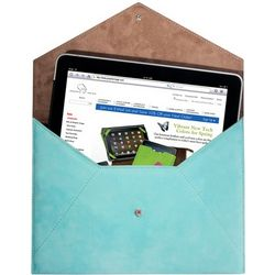 Nubuck Leather iPad Envelope