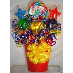 Festive Whirly Lollipop Bouquet