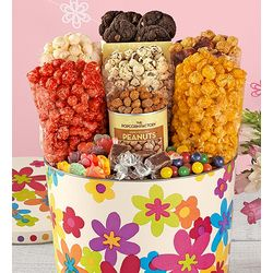 Spring Floral Snack Tin