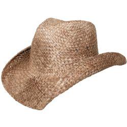 Moroccan Straw Cowboy Hat