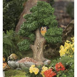 Miniature Fairy Pixie Tree Garden Sculpture