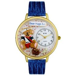 Teddy Bear Hugs Miniatures Watch
