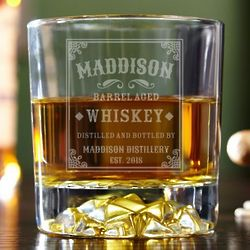 Stillhouse Personalized Whiskey Glass