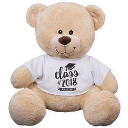 "Class of Personalized 11"" Graduation Teddy Bear"
